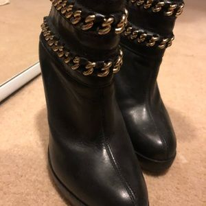 "Tory Burch heels 4"" anklet booties"